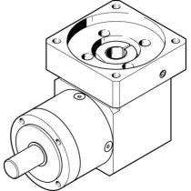 Передаточный модуль Festo EMGA-80-A-G5-100A