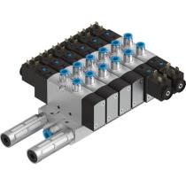 Блок распределителей с монтажом на плиту Festo VTUS-25