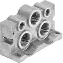 Торцевая плита Festo VABE-S1-2R-G34