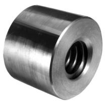 Гайка трапецеидальная (сталь) FLI d=10 мм, шаг резьбы 2 мм, KSM 10-2-D