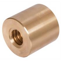 Гайка трапецеидальная (бронза) FLI d=14 мм, шаг резьбы 3 мм, LRM-14-3-D