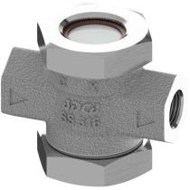 Стекло смотровое двустороннее ADCA DW40SS Ру40 Ду1/2 (PN40 DN15 )