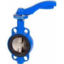 Затвор дисковый поворотный межфланцевый чугунный Genebre 2103-12 Ру16 Ду100 (PN16 DN100)