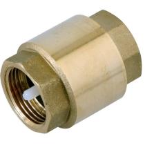 Клапан обратный пружинный резьбовой латунный Genebre 3120-06 DN25 PN12