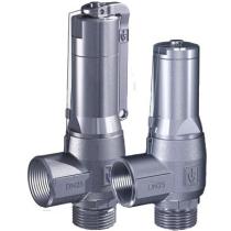 Клапан предохранительный нержавеющая сталь резьбовой Goetze 460-tGFL-DN10-m/f-10/10-FKM