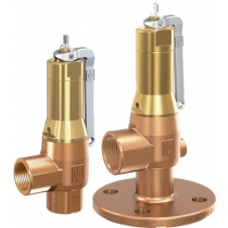 Клапан предохранительный бронзовый резьбовой Goetze 642-mGFL-Ду25-f/f-25/25-PTFE/EPDM (DN25)