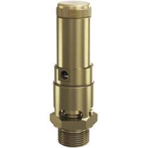 Клапан предохранительный латунный резьбовой Goetze 810-sGK-DN50-m/–50/-PTFE-0,2/25
