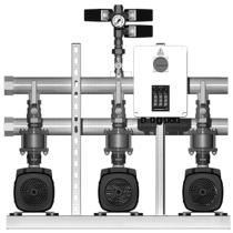 Установка повышения давления Grundfos HYDRO MULTI-S 3 CM3-8