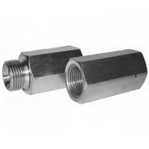 Корпус для картриджного клапана защиты от обрыва РВД Hydronit S.r.l. CMF-VUBA-03, G1/2 нар./внутр.
