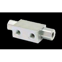Гидрозамок трубного монтажа Hydronit S.r.l. VRSE-01-F, 15 л/мин, 320 бар, 1:4