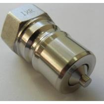 Штекер БРС ISO-B Inox Riva IRH-M-1140-G 1/4 BSP