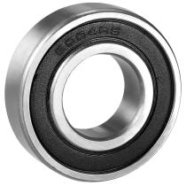 Подшипник роликовый сферический радиально упорный двухрядный 22208 2RS (3508) 40x80x28 мм ISB