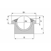 Шариковая опора SP 12 C-D(2) ISB