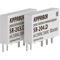Интерфейсное промежуточное реле KIPPRIBOR SR-203-D