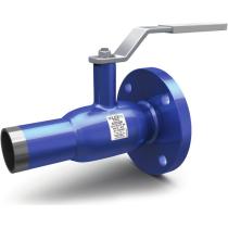 Кран шаровой стандартнопроходной комбинированный LD КШЦК Energy Ру40 Ду50 РN40 (PN40 DN50) рычаг, шар AISI 304