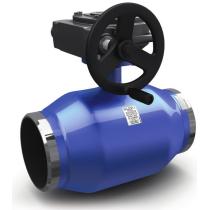 Кран шаровой стандартнопроходной под приварку LD КШЦП Ру25 Ду250 (PN25 DN250)