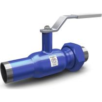Кран шаровой стандартнопроходной комбинированный LD КШЦК Energy Ру40 Ду32 РN40 (PN40 DN32) рычаг, шар 20x13