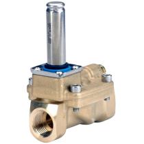 Клапан соленоидный нормально закрытый без электромагнитных катушек Danfoss Ду40 KVS24 Ру20 (DN40 PN20) EV220B 032U7140
