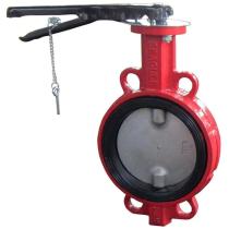 Затвор чугунный с нержавеющим диском и уплотнением Seagull Ду400 Ру16 (DN400 PN16)