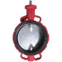 Затвор чугунный с нержавеющим диском и уплотнением Seagull Ду250 Ру16 (DN250 PN16)