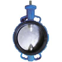 Затвор чугунный с чугунным диском и уплотнением NBR Seagull Ду300 Ру16 (DN300 PN16)