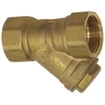 Фильтр сетчатый резьбовой латунный SGL Ду20 Ру25 (DN20 PN25)