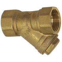 Фильтр сетчатый резьбовой латунный SGL Ду32 Ру25 (DN32 PN25)