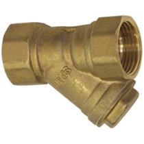 Фильтр сетчатый резьбовой латунный SGL Ду40 Ру16 (DN40 PN16)