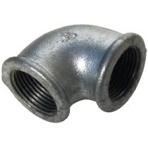Угольник чугунный Ду50 (DN50) 90-1-50 оцинкованный