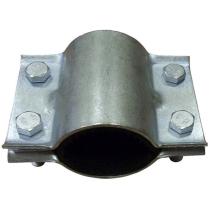 Хомут стальной ремонтный для труб