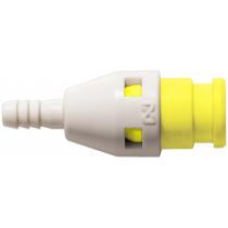 Штекер БРС без клапана желтый Cube Cupla SPC-06PH-VL-YEL POM SG