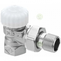 Клапан термостатический с преднастройкой V-exact II угловой резьбовой Danfoss DN15 Ру10 (DN15 PN10) 3711-02.000