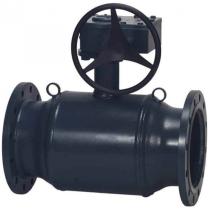 Кран шаровой стандартнопроходной фланцевый стальной Danfoss JiP Premium FF Ду150 Ру25 (DN150 PN25) 065N0351G