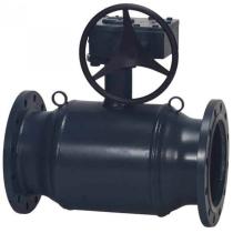 Кран шаровой стандартнопроходной фланцевый стальной Danfoss JiP Premium FF Ду150 Ру16 (DN150 PN16) 065N0251G