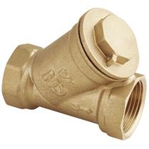 Фильтр сетчатый резьбовой латунный, косой, грубой очистки AquaHit FW.110.04  Ду15 Ру16 (DN15 PN16)
