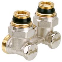 Клапан запорный угловой Danfoss RLV-KB 1/2x3/4 PN16 003L0398