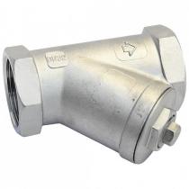 Фильтр сетчатый резьбовой из нержавеющей стали Danfoss Y666 Ду40 Ру40