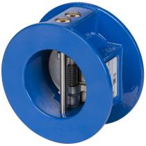 Клапан обратный двустворчатый чугунный, пластины- из нержавеющей стали Danfoss Ду50 Ру16 (DN50 PN16) NVD 895 065B7495