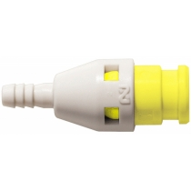 Штекер БРС без клапана желтый Cube Cupla SPC-04PH-VL-YEL POM SG
