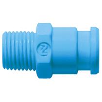 Штекер БРС синий Cube Cupla SPC-10PM-BLU POM SG