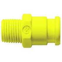 Штекер БРС без клапана желтый Cube Cupla SPC-10PM-VL-YEL POM SG
