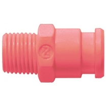 Штекер БРС без клапана розовый Cube Cupla SPC-10PM-VL-PNK POM SG