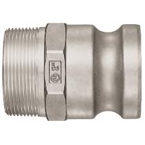 Штекер БРС Lever Lock Cupla LF-6TPM SUS