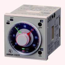 Твердотельный сдвоенный таймер Omron H3CR-F8 100-240VAC/100-125VDC