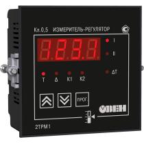 Двухканальный регулятор с универсальным входом ОВЕН 2ТРМ1-Щ11.У.РР