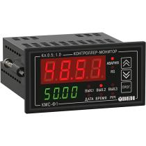 Цифровой мультиметр с аварийной сигнализацией и RS-485 ОВЕН КМС-Ф1.Щ2.Р