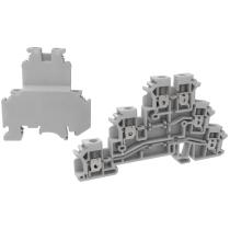 Клемма винтовая многоуровневая MEYERTEC MTU-D2.5 (комплект 20 шт)