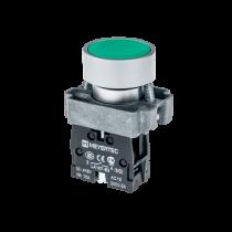 Кнопка с плоским толкателем с пружинным возвратом MEYERTEC MTB2-BAZ113