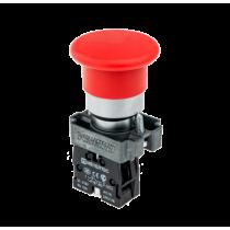 Кнопка с грибовидным толкателем с пружинным возвратом MEYERTEC MTB2-BCZ124