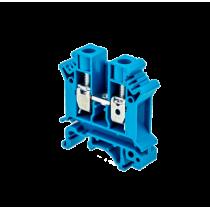 Клемма винтовая одноуровневая MEYERTEC MTU-10BL (комплект 20 шт)
